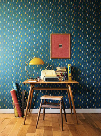 Sanderson wallpaper bold statements, perfect for a feauture wall or to stamp your claim on your room
