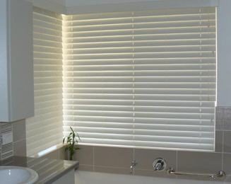 Venetian Blinds are perfect for bathrooms