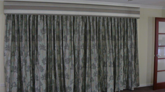 Drapes for all your needs call Rian's Window Treatments
