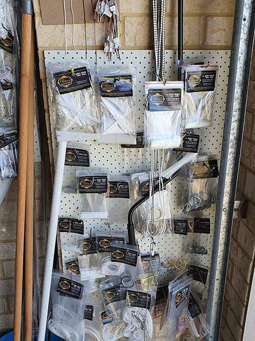 spare parts for curtains / blinds